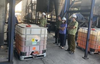 Bắc Giang: Tiêu hủy hơn 11.000 lít xăng