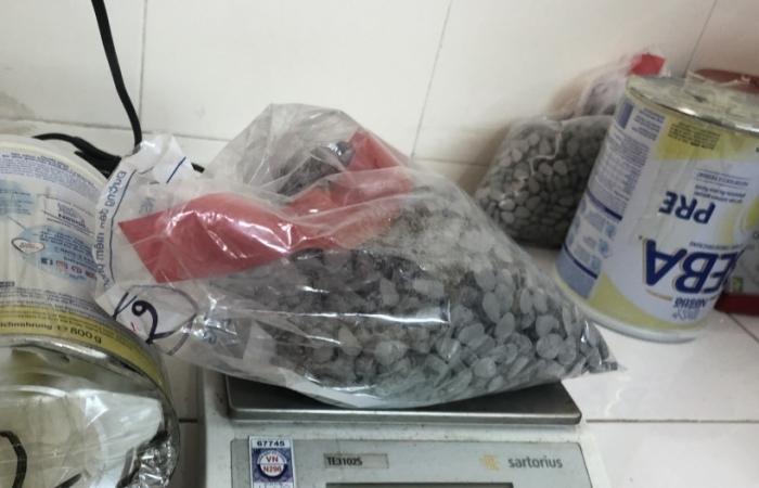 Bắt giữ hơn 30.000 viên ma túy từ Đức về Việt Nam