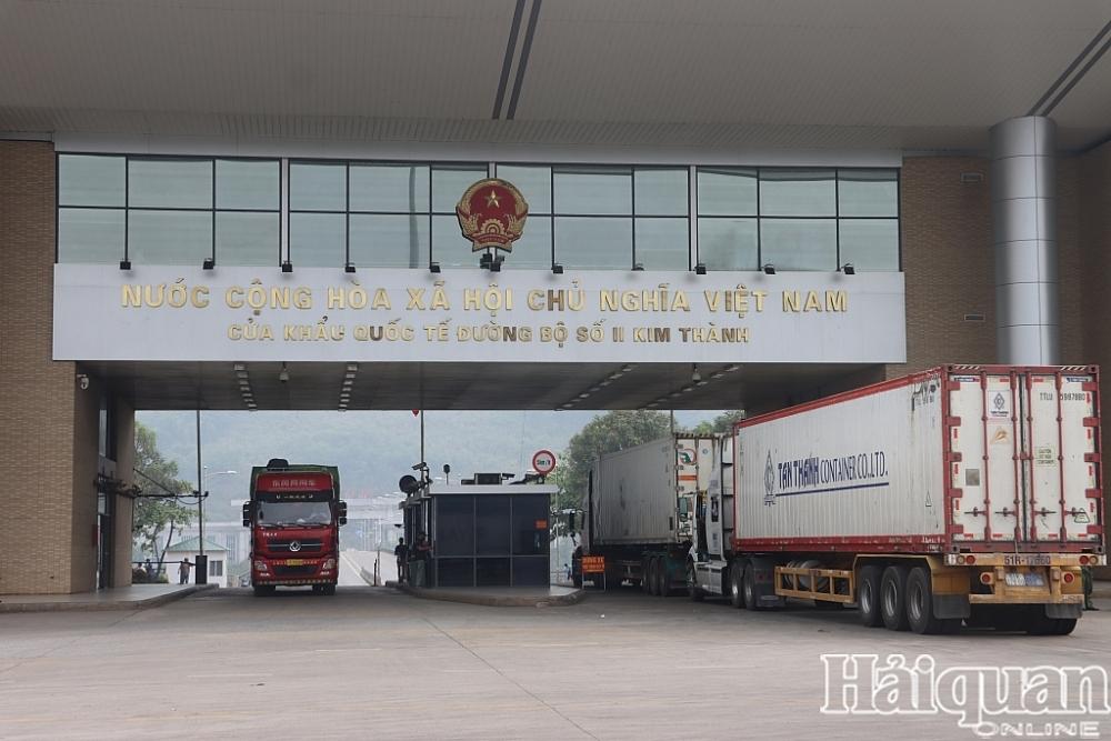 Hải quan Lào Cai thông quan 39.000 tấn chuối xuất khẩu