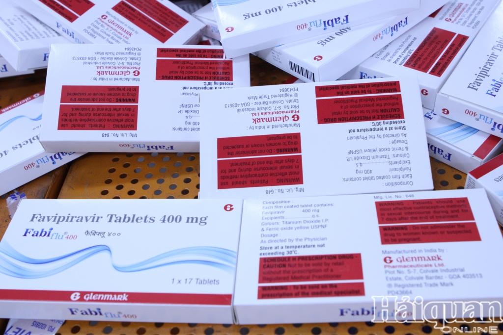 Bắt giữ hàng chục nghìn viên thuốc điều trị Covid-19