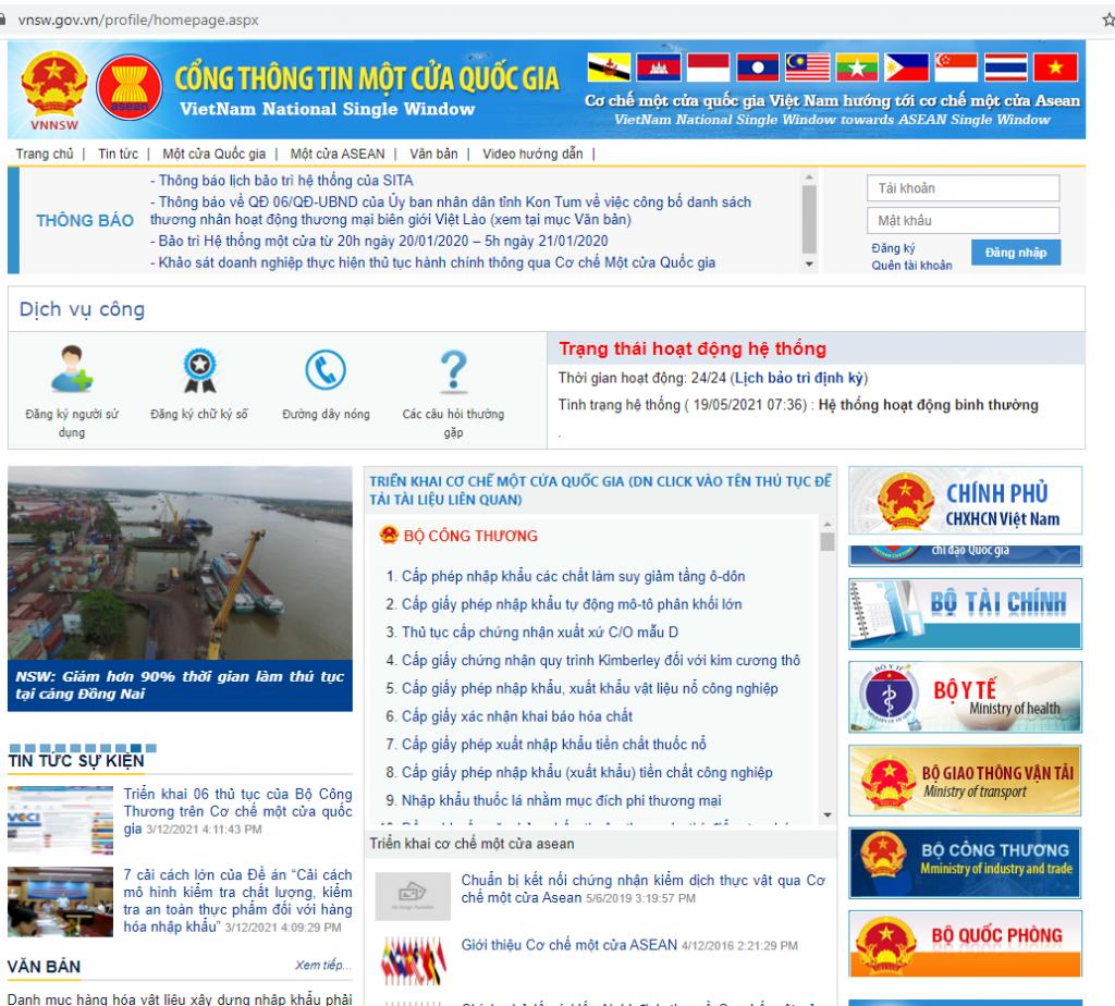 Trao đổi gần 1,5 triệu C/O qua Cơ chế một cửa ASEAN