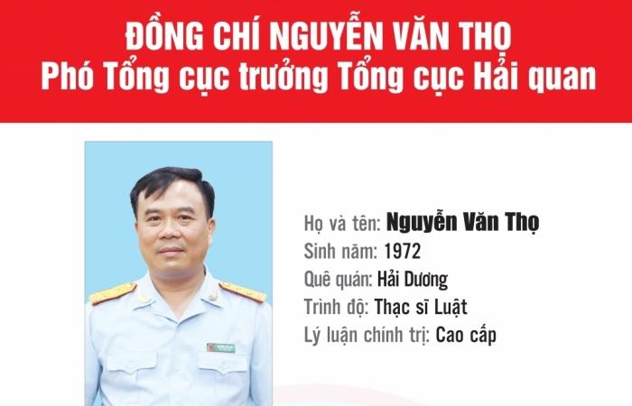 Infographics: Quá trình công tác của Phó Tổng cục trưởng Tổng cục Hải quan Nguyễn Văn Thọ