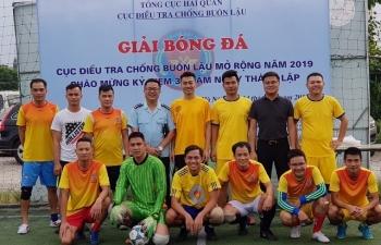 Thanh niên Hải quan, Công an, Cảnh sát biển giao lưu bóng đá