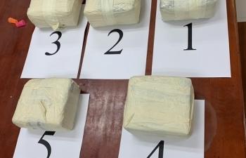 Hải quan tham gia triệt phá 131 vụ án về ma túy