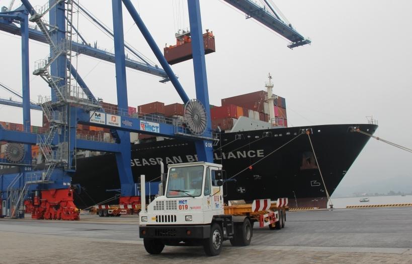 Cảng container quốc tế Hải Phòng đón TEU thứ 500.000