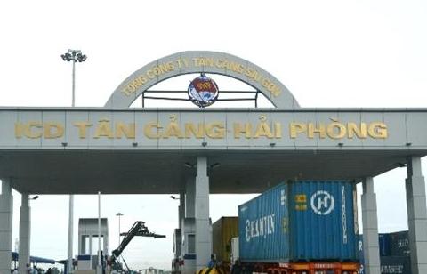 Cảng cạn Tân cảng Hải Phòng do Hải quan Đình Vũ quản lý