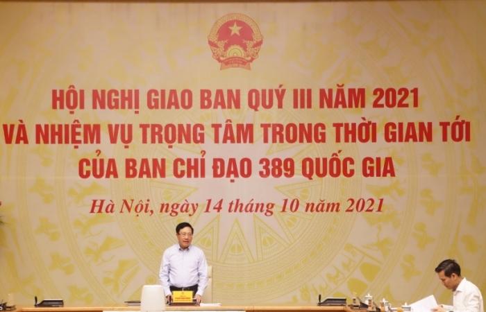 Phó Thủ tướng Phạm Bình Minh: Cần chủ động kế hoạch đấu tranh chống buôn lậu cuối năm