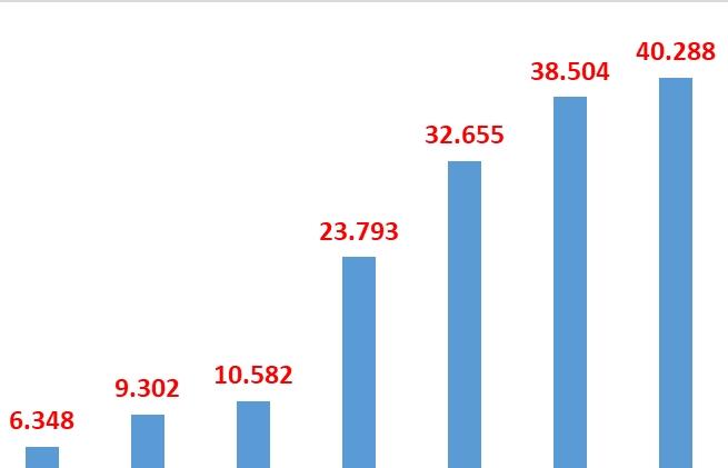 Tờ khai làm thủ tục tại Hải quan Hải Phòng tăng trên 40%