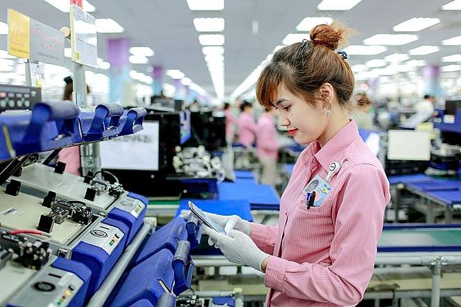 """Điện thoại và máy vi tính """"Made in Vietnam"""" xuất khẩu nhiều nhất vào Mỹ và Trung Quốc"""