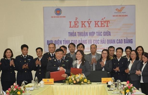 Hải quan Cao Bằng phối hợp Bưu điện cải cách thủ tục hành chính