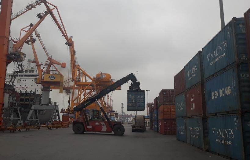Cảng Hải Phòng thực hiện dịch vụ ePort tại Tân Vũ
