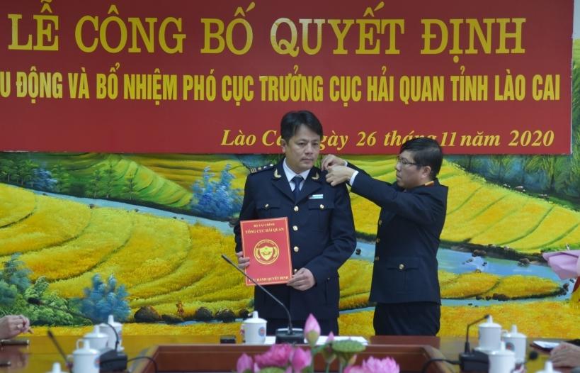Bổ nhiệm tân Phó Cục trưởng Cục Hải quan Lào Cai
