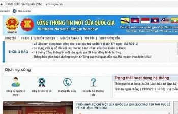 Việt Nam kết nối Cơ chế một cửa ASEAN với Myanmar và Lào trong tháng 12