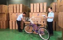 Kiểmtra nhập khẩu mặt hàng linh kiện lắp ráp xe đạp, xe đạp điện
