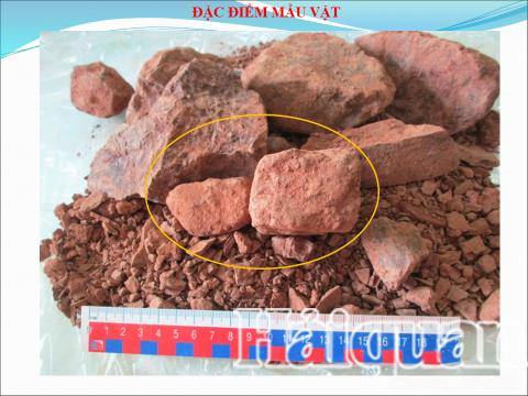 44.000 tấn quặng của Công ty Bảo Nguyên là quặng thô