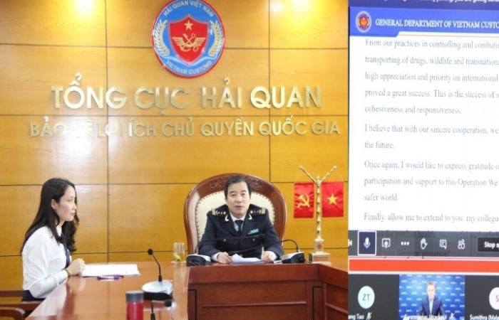 Tiếp nhận 166 yêu cầu xác minh về chống buôn lậu từ hải quan các nước và tổ chức quốc tế