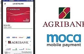 Agribank chính thức kết nối thanh toán với Ví điện tử Moca