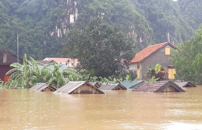Nhà sập đổ hoàn toàn do thiên tai vừa qua được hỗ trợ 40 triệu đồng/nhà