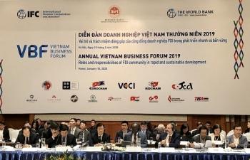 Diễn đàn doanh nghiệp VBF 2019: Tìm giải pháp để phát triển nhanh và bền vững