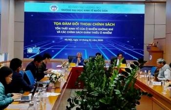 Quản lý ô nhiễm không khí tại Việt Nam chưa triệt để