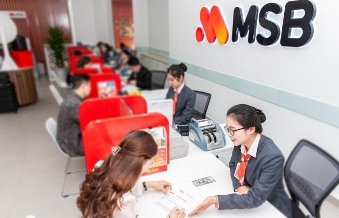 MSB lên phương án chia cổ tức tối thiểu 15%