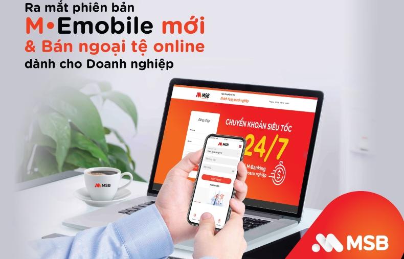MSB ra mắt phiên bản M-emobile cho khách hàng doanh nghiệp