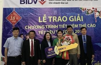 Trúng 500 triệu đồng khi gửi tiết kiệm dịp Tết tại BIDV