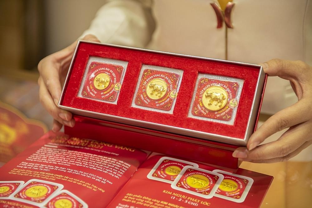 Các doanh nghiệp vàng đã tung ra nhiều sản phẩm vàng cho ngày vía Thần Tài.