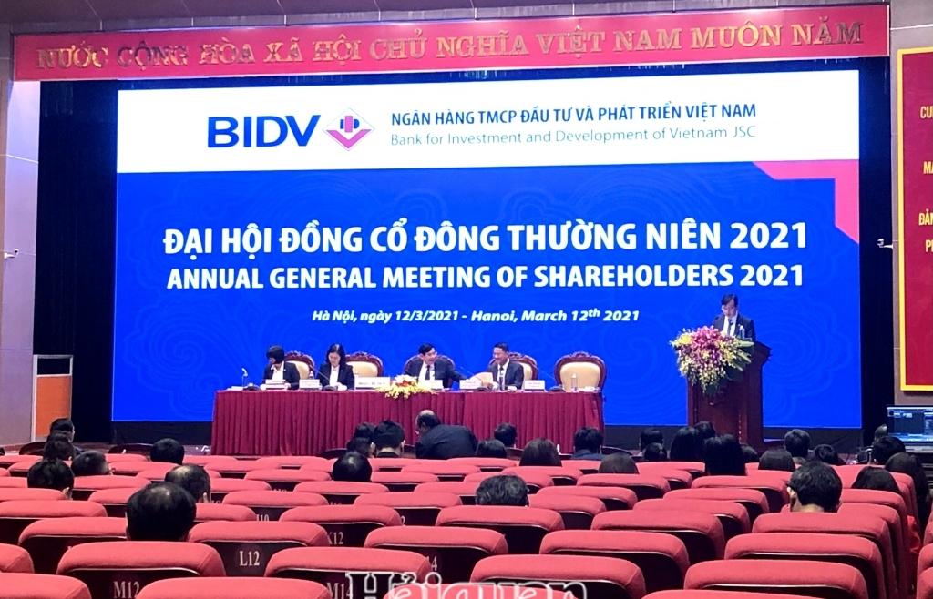 BIDV đặt mục tiêu lợi nhuận tăng 44%, thành lập ngân hàng con tại Myanmar