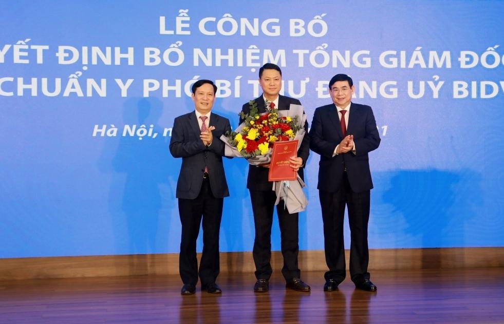 BIDV công bố Tổng giám đốc mới
