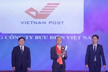 Tổng công ty Bưu điện nhận Giải thưởng Thương hiệu mạnh Việt Nam