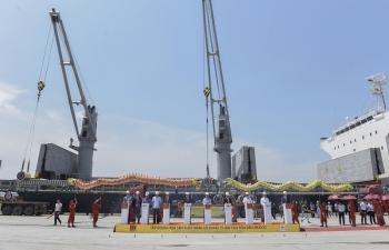 Tập đoàn Hoa Sen tiếp tục xuất khẩu 15.000 tấn tôn đến Mexico