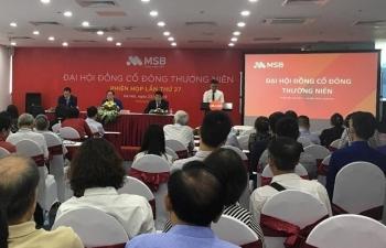 MSB thống nhất dư nợ tín dụng năm 2019 tăng 35%