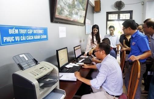 100% trung tâm phục vụ hành chính công triển khai số hóa hồ sơ