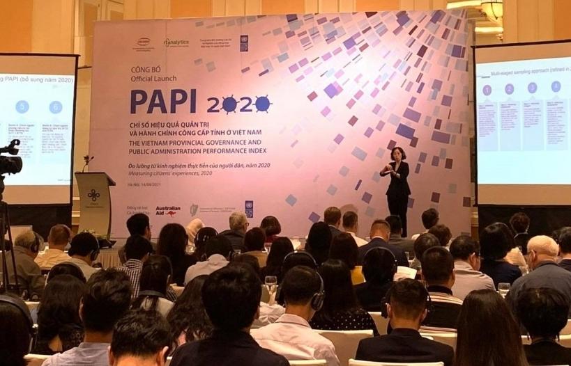 PAPI 2020: Kiểm soát tham nhũng trong lĩnh vực công đã cải thiện qua từng năm