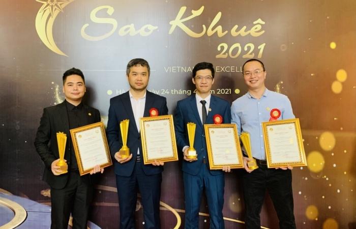 4 nền tảng số của NOVAON đạt giải thưởng Sao Khuê 2021