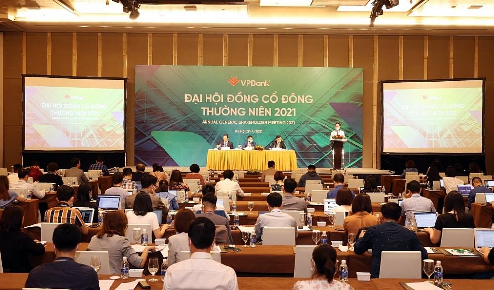 Đại hội đồng cổ đông thường niên năm 2021 của VPBank.