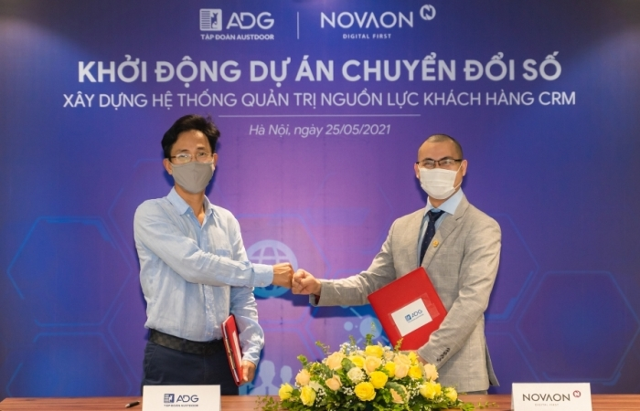 Austdoor hợp tác cùng NOVAON chuyển đổi số