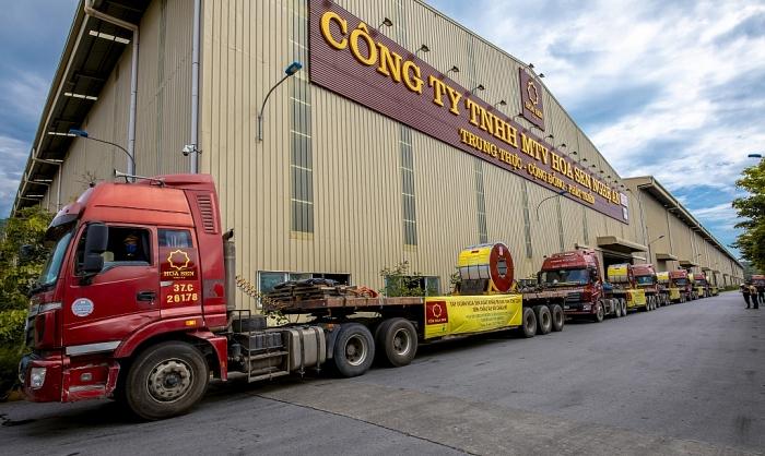 Hoa Sen xuất khẩu lô hàng 50.000 tấn tôn đi châu Âu và châu Mỹ