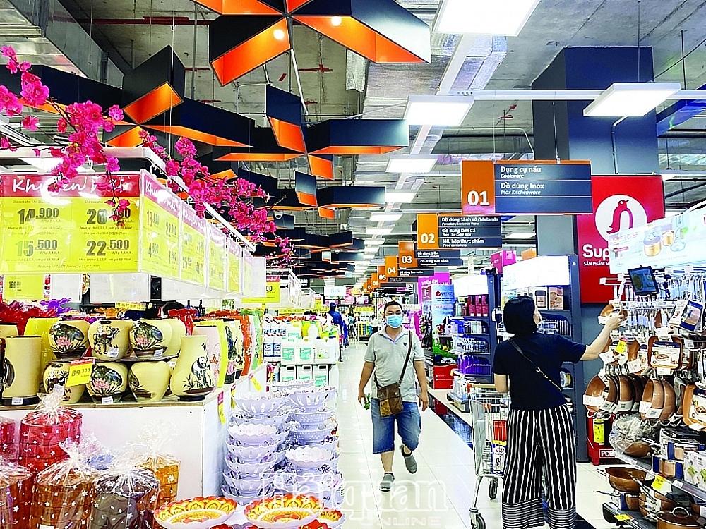 Thị trường bán lẻ Việt Nam luôn nhiều tiềm năng phát triển. Ảnh: Thu Dịu
