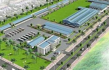 Đầu tư kết cấu hạ tầng Khu công nghiệp Thaco - Thái Bình