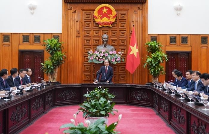 Thủ tướng: Nỗ lực bảo đảm Việt Nam là mảnh đất thành công cho nhà đầu tư Hàn Quốc.