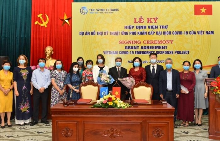 Hơn 6,2 triệu USD viện trợ không hoàn lại giúp Việt Nam ứng phó Covid-19