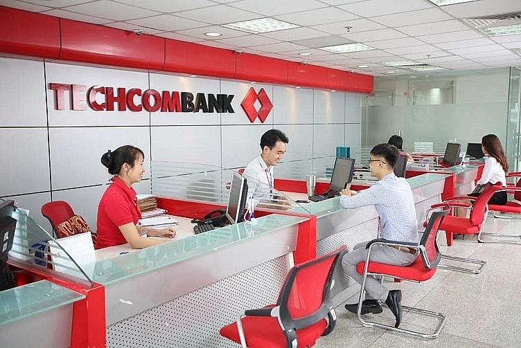 Hoạt động giao dịch tại Techcombank.