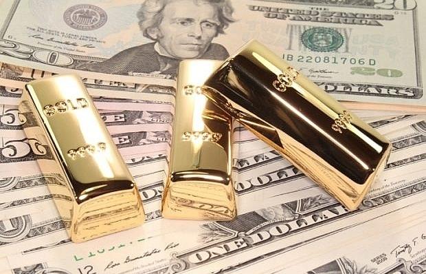Chỉ số USD đứng ở mức cao, giá vàng tiếp tục giảm