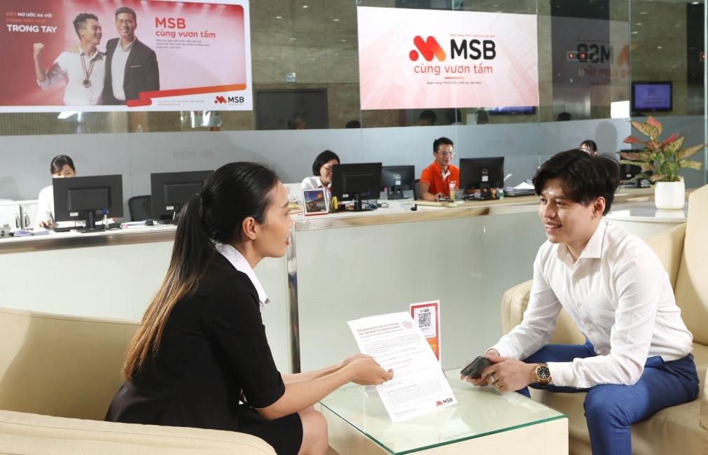 Lợi nhuận của MSB tăng gần 72% trong 6 tháng đầu năm