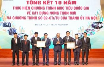 Thủ tướng: Hà Nội cần xây dựng một nền nông nghiệp đặc trưng, có vị trí chi phối