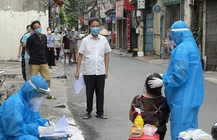 Hà Nội: Khẩn trương công bố cấp độ dịch