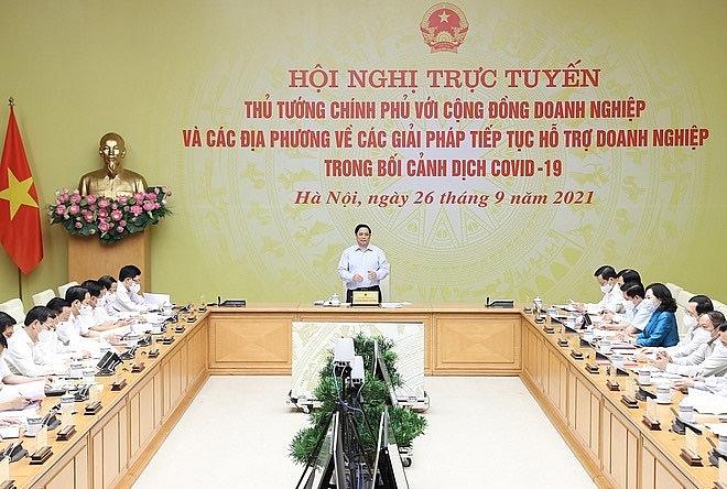 Thủ tướng cho biết, Chính phủ đang chỉ đạo xây dựng kịch bản thích ứng an toàn, linh hoạt, kiểm soát có hiệu quả dịch bệnh.