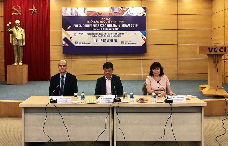 Triển lãm quốc tế Việt – Nga sẽ diễn ra từ 14/11 tại Hà Nội